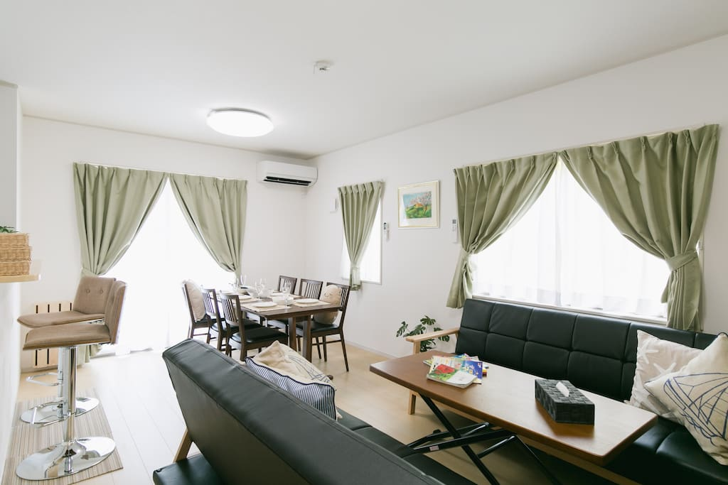Brand-New Cozy House☆ Completely private!   新築1戸建てすべて貸切☆ファミリー大歓迎☆名護市街地☆Cozy Houseで素敵な沖縄の思い出をつくってくださいね;-)