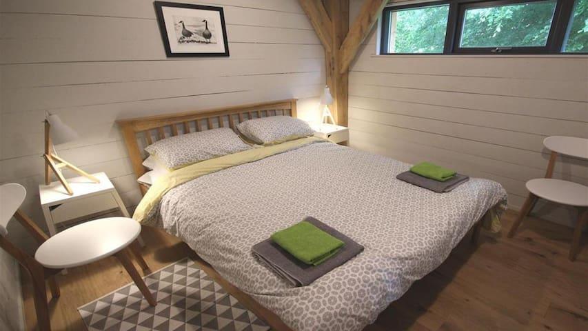 Double bedroom in the Cabin