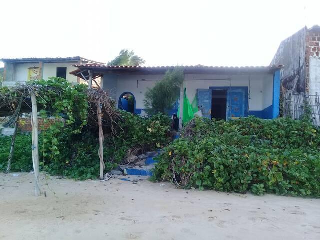 CASITA AZUL na mesma areia Sagi..!! - Baía Formosa - Hus