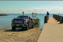 Harry Harris park and boat ramp located just 1.5 miles away from the home.