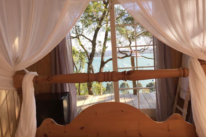 Luxury tree house B&B