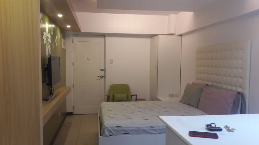 A 23 sq mtr condo unit, fully furnished