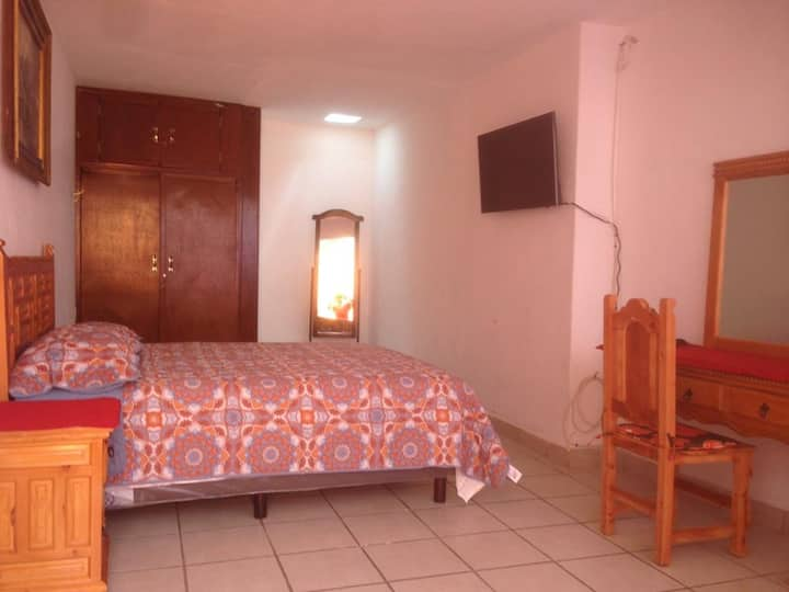 Spacious room and as in Historic Center