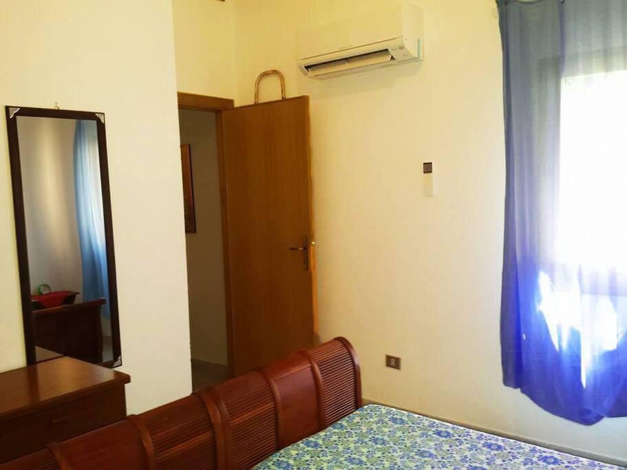 Camera matrimoniale 1 con letto XL : Climatizzata