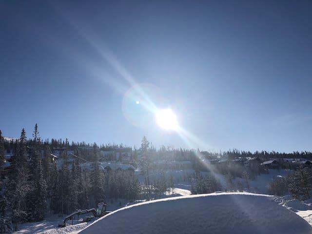 Helt ny lgh i vemdalskalet. Ski in/out.