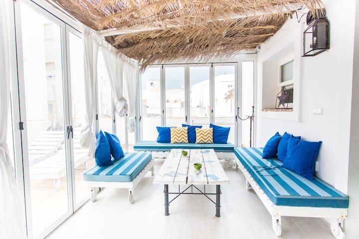Loft con terraza privada