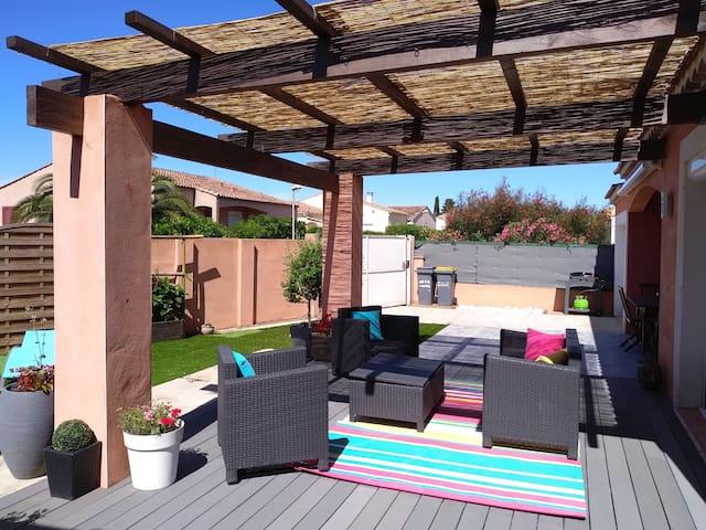Villa a Marseillan . proche commerce plage a  5 km