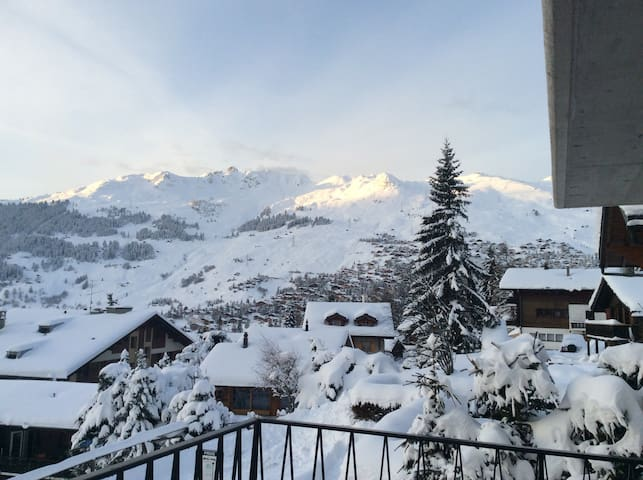 Ideally located apartment in Verbier above Médran - Bagnes - Wohnung