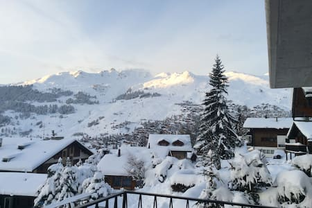Ideally located apartment in Verbier above Médran - Bagnes - Byt