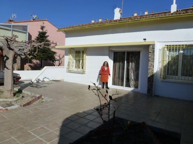 villa très lumineuse plein pied - Perpignan - Villa