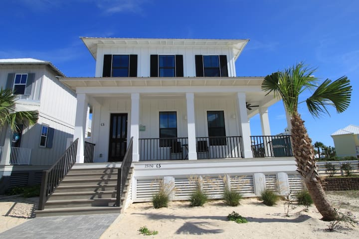 Cottage at Romar Private Beach Side Home- Chic! - Orange Beach - House