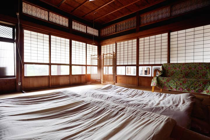 Traditional tatami room