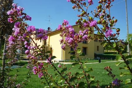 1 of 5 apt in farm house in Toscany countryside - Casalguidi, Serravalle Pistoiese - Haus