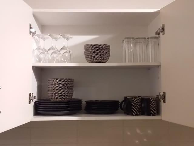 Easy Kitchen Set-up