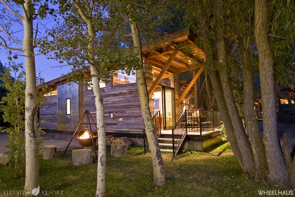 Summertime cabin in the heart of the Tetons