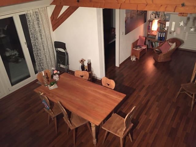 Charmante Dachwohnung - Frauenfeld - Apartment