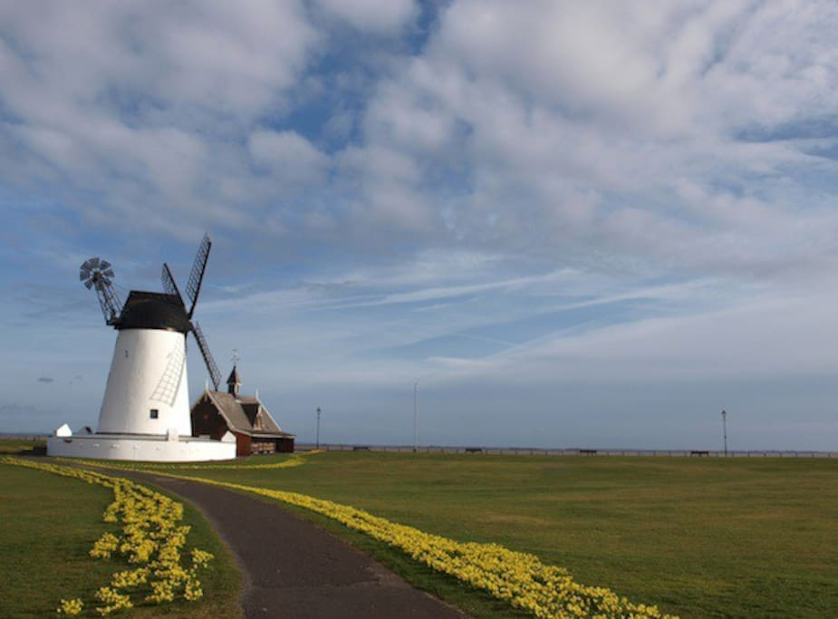 Lytham only 5 Minutes drive away...