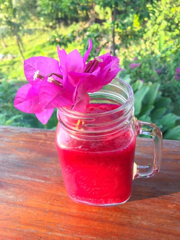 dragonfruit juice!!