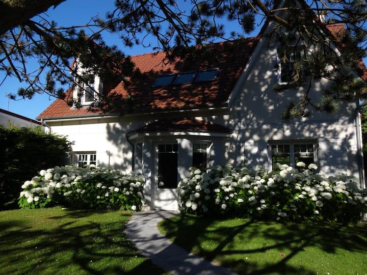 jolie villa récente avec jardin, proche du touquet