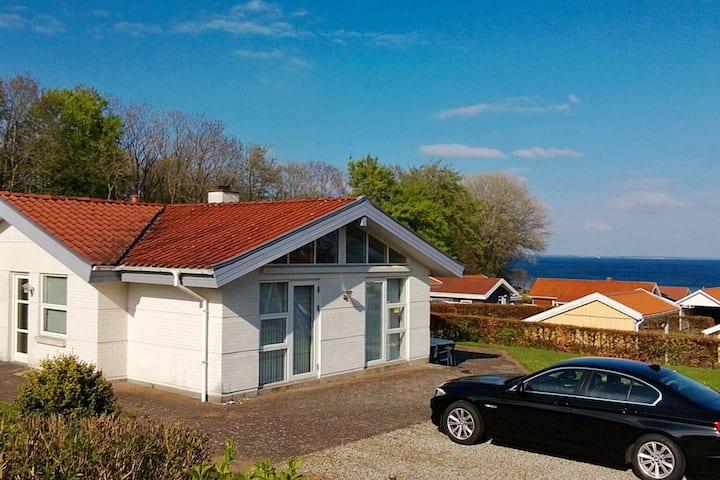 Contemporary Holiday Home in Sjølund with Sauna