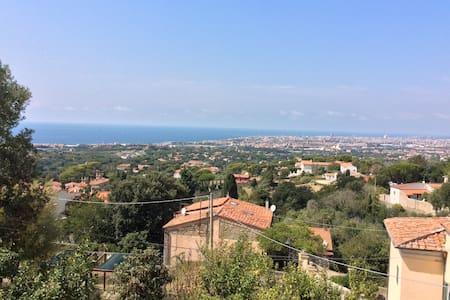 Bilocale terrazza vista panoramica sul mare - Livorno - Apartamento