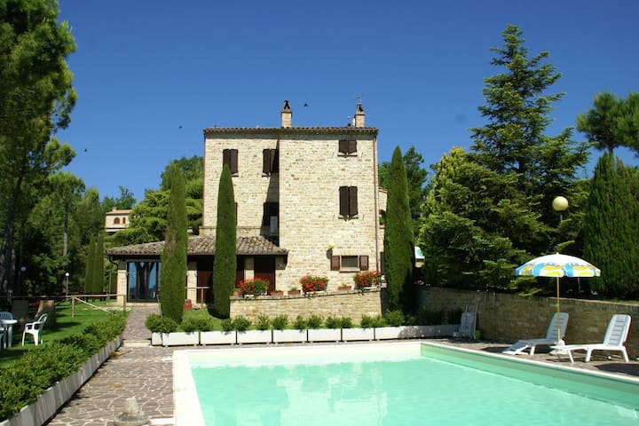 Ideal property where you can spend a holiday full of action and rest.