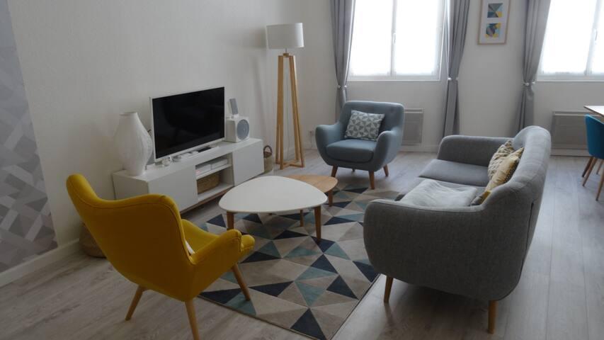 Grand T2 en plein coeur du centre-ville - La Rochelle - Apartment