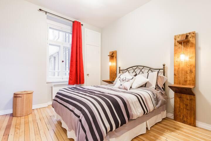 Vieux Québec: Logement Antique/Contemporain - Ville de Québec - Apartment