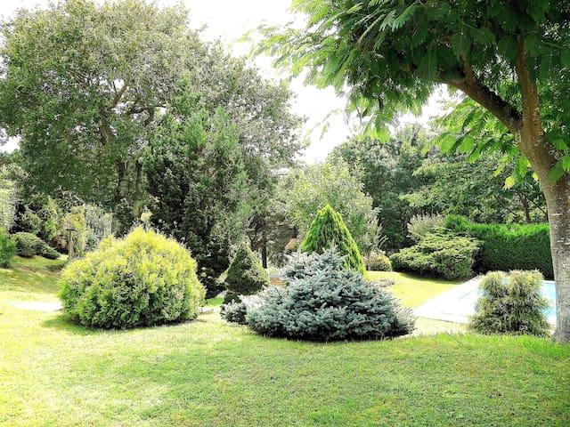 Villa, parc, piscine, 6 chambres, plage. - Biarritz - Hus