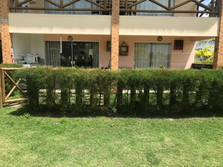 Apartamento Resort, cond Villa das Aguas, praia