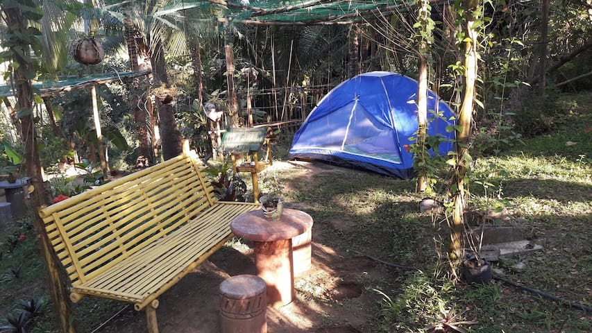 Zallags farm&glamping garden Tent#1 NatureFarmLife