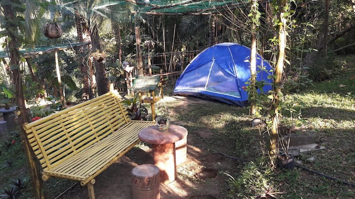 Zallags Glamping Garden Tent#1 NatureFarmLife
