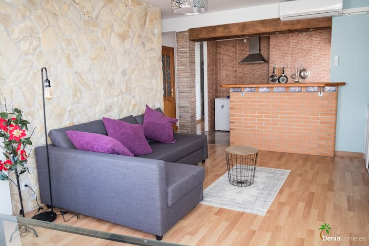 Apartment in  Denia at 200 meters from the sea