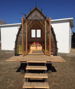Pope Hut at Blue Sky Center - New Cuyama