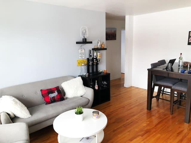 Welcoming room in Quebec