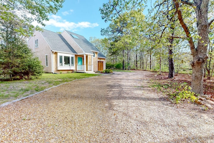 New listing! Modern, stylish home w/ large yard, outdoor patio & great location!