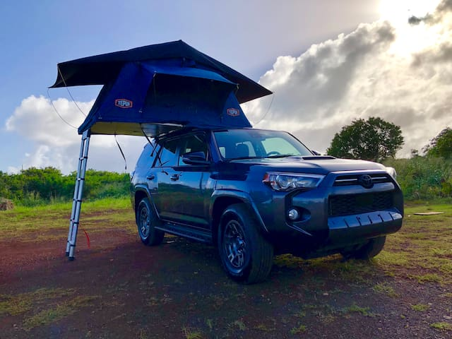 Our Magic 2020 4Runner TRD Venture Camper