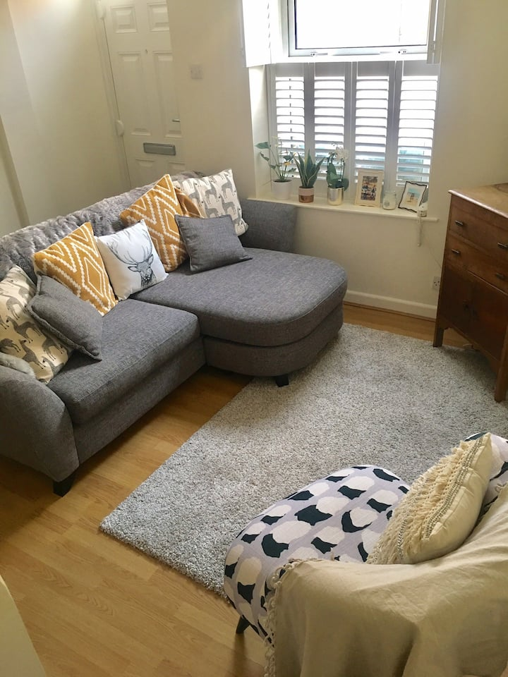 Bright and clean double room available.
