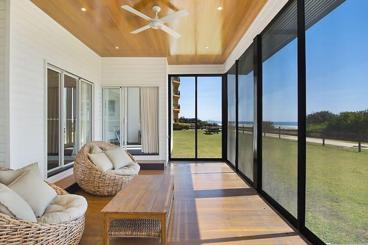 Beachfront Abode