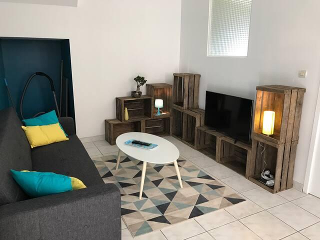 Gite meublé F2 40m2 Lagnieu Bugey - Lagnieu - Maison