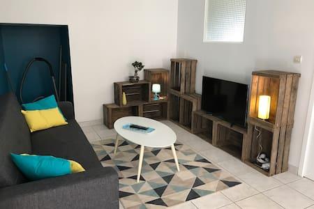 Gite meublé F2 40m2 Lagnieu Bugey - Lagnieu - Casa