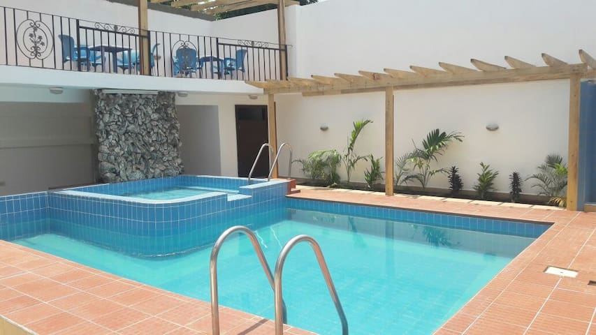 Short or long term room rental in Residence. - Accra - เกสต์เฮาส์