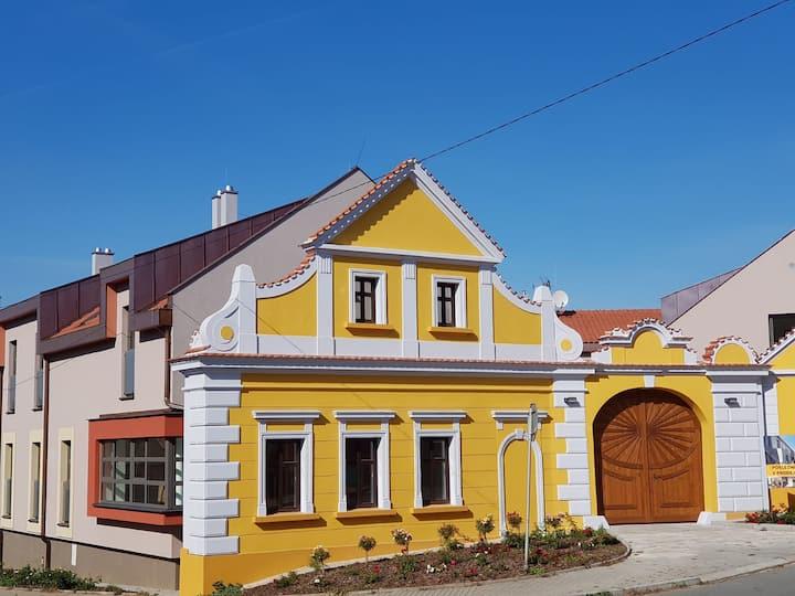 Moderní byt v historickém domě