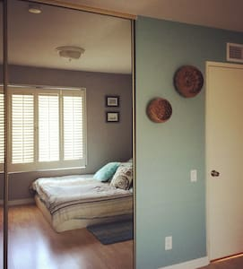 Private room with queen bed in Mission Viejo - Mission Viejo - บ้าน