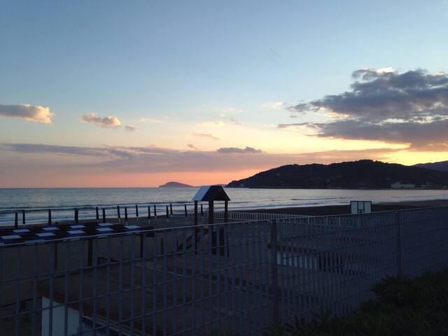 100m dal mare, tra Roma, Napoli, isole, terme15km - Minturno - Pis