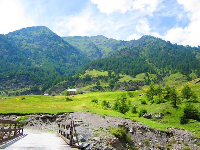 Huis in mooi bergdorpje - Villar Pellice - Casa