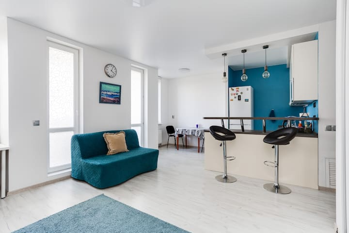 Apartments Zhit Zdorovo on Belorysskaya 13