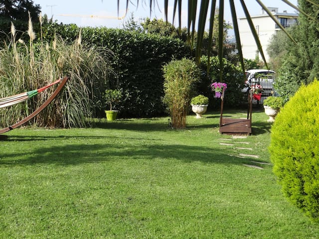 Jardin privatif 300m2