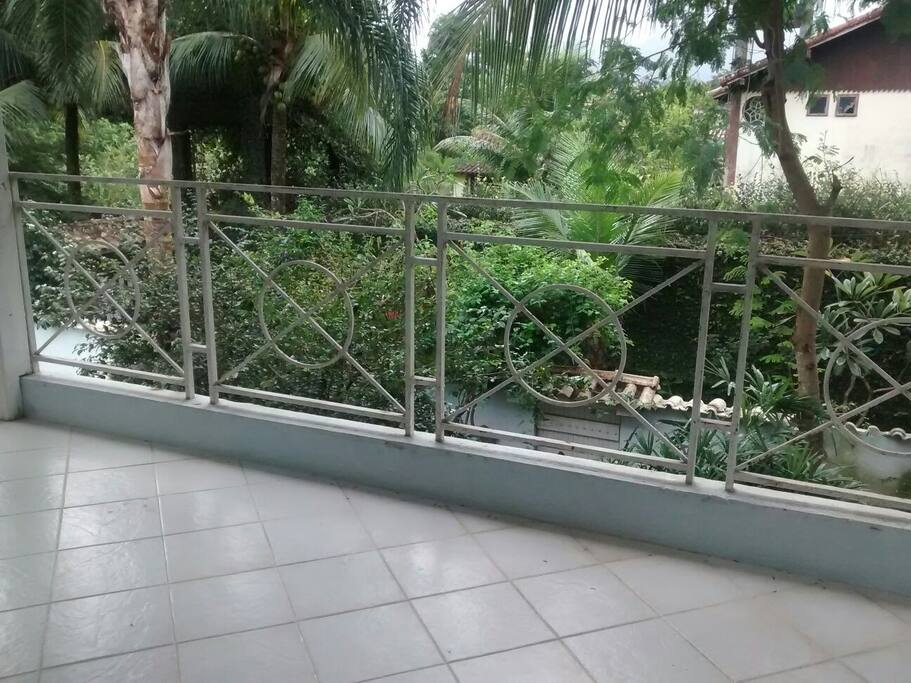 Vista da varanda superior