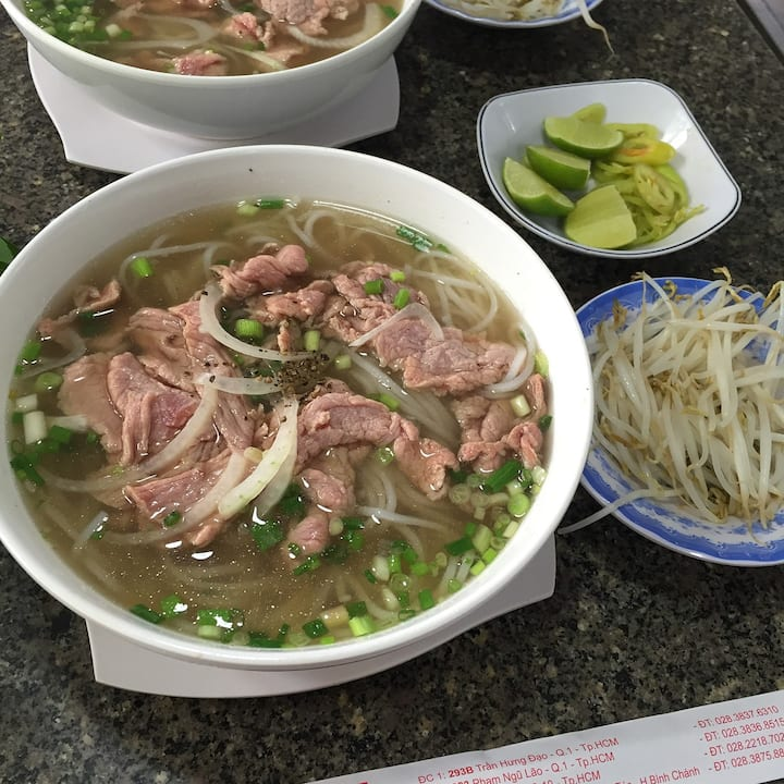 """Phở"" - The most famous beef noodle"
